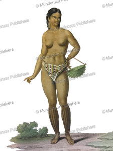 Woman of Guam Island, Jacques Arago, 1828 | Photos and Images | Travel
