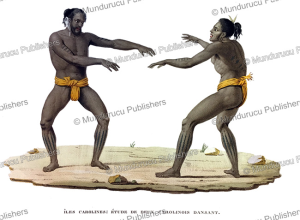 Dancing men from the Caroline Islands, Jacques Arago, 1820 | Photos and Images | Travel