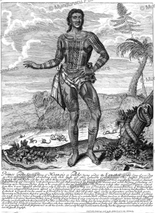 Prince Giolo, son of the King of Moangis or Gilolo, Philippine islands, John Savage, 1692 | Photos and Images | Travel