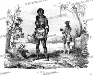 Women of Kosrae, Louis Auguste de Sainson, 1839 | Photos and Images | Travel