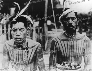 Men from Yap with chest tattoos | Photos and Images | Travel