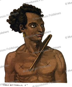 abba thulle, king of the pelew (palau) islands, carlo bottigelli, 1822
