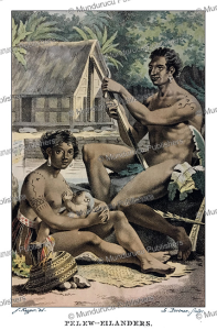 Natives of Palau, Jacques Kuyper, 1802 | Photos and Images | Travel