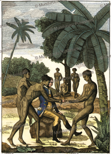 Captain Wilson with natives of Palau, 1783 | Photos and Images | Travel