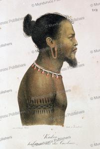 Kadou, a native of the Caroline Islands, Ludwig Choris, 1822 | Photos and Images | Travel