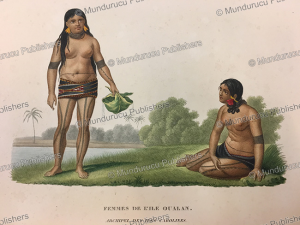Woman of Kosrae, Jules Louis Lejeune, 1823 | Photos and Images | Travel