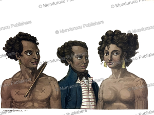 king and queen of the pelew (palau) islands, carlo bottigella, 1822