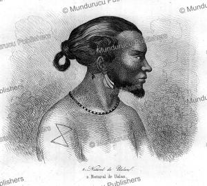 Man of Kosrae, Jules Louis Lejeune, 1823 | Photos and Images | Travel