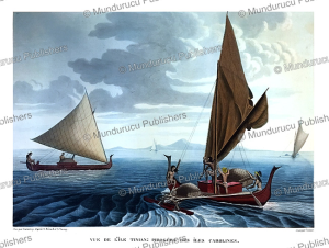Ship from Tinian, Mariana Islands, A. Berard and A. Taunay, 1819 | Photos and Images | Travel
