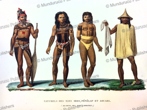 Natives of the Caroline Islands, Jules Louis Lejeune, 1826 | Photos and Images | Travel