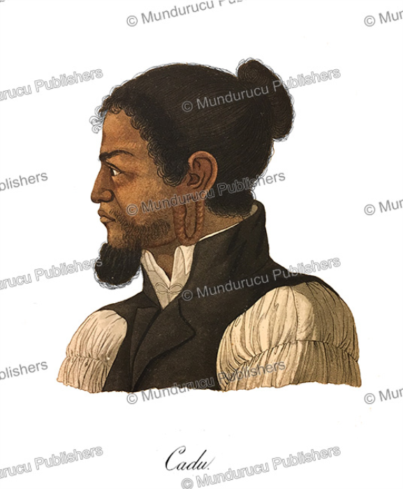 First Additional product image for - Cadu, a native of the Caroline Islands, Ludwig Choris, 1826