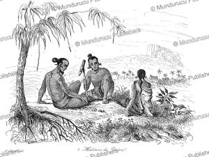 Natives of Ualan, Louis Auguste de Sainson, 1839 | Photos and Images | Travel