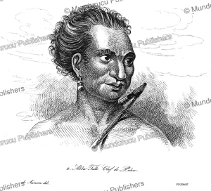 Abba Thulle, chief of Pelew (Palau), Louis Auguste de Sainson, 1839 | Photos and Images | Travel