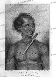 abba thulle, king of pelew (palau), arthur william devis, 1788