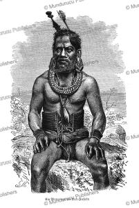 Man of Chuuk Island, Gustav Mu¨tzel, 1887 | Photos and Images | Travel