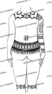 Sonsorol female body tattoo back, J.S. Kubary, 1889 | Photos and Images | Travel