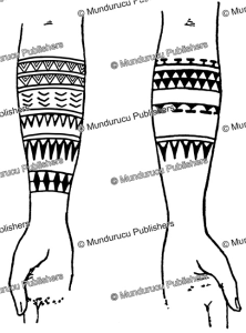 Lamotrek lower arm tattoo patterns, Augustin Kra¨mer, 1910 | Photos and Images | Travel