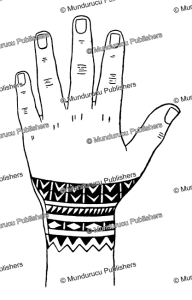 Yap wrist tattoo pattern for men, Wilhelm Mu¨ller, 1917 | Photos and Images | Travel
