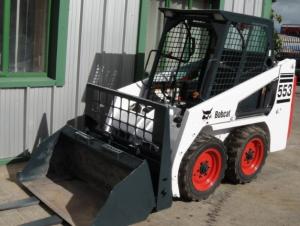 bobcat 553 skid steer loader service repair workshop manual download ( s/n 539112001 & above, s/n 539412001 & above )