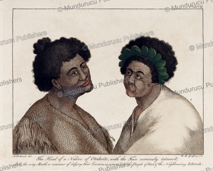 Curiously tattooed man of Tahiti, Sydney Parkinson, 1780 | Photos and Images | Travel