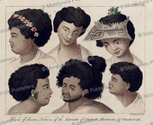 Natives from the islands of Tahiti, Sydney Parkinson, 1780 | Photos and Images | Travel