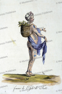 Beautifully tattooed woman from Tahiti, Jacques Grasset de Saint-Sauveur, 1795 | Photos and Images | Travel