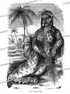 Queen Pomare´ of Tahiti, Euge`ne Delessert, 1848 | Photos and Images | Travel