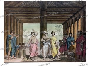 Tahitian dance, Giulio Ferrario, F. Castelli, 1816 | Photos and Images | Travel