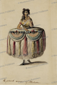 the present woman of oteheite, tahiti, jacques de loutherbourg, 1785