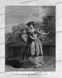 A young woman of Tahiti dancing, John Webber, 1784 | Photos and Images | Travel