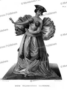 tahitian dancing woman, c.c.a. last, 1836