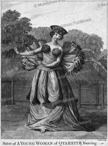 Young Tahitian woman dancing, John Sherwin, 1790 | Photos and Images | Travel