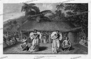 A dance in Otaheite, Tahiti, John Webber, 1784 | Photos and Images | Travel