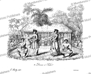 a dance on tahiti, jules boilly, 1839