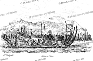 The fleet of Tahiti, Jules Boilly, 1839 | Photos and Images | Travel