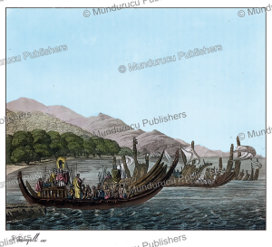The Tahitian fleet, Paolo Fumagalli, 1816 | Photos and Images | Travel