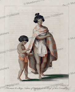 Woman and boy of Otaheite, Tahiti, Sydney Parkinson, 1780 | Photos and Images | Travel