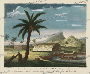 A boat-house on Tahiti, Sydney Parkinson, 1780 | Photos and Images | Travel