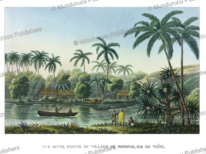 Matavae, an island of Tahiti,  Lejeune and Chazal, 1826 | Photos and Images | Travel