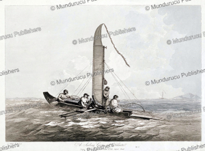 A sailing canoe of Tahiti, John Webber, 1792 | Photos and Images | Travel