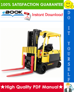hyster e80xn, e100xn, e100xns, e120xn (a099) 4-wheel electric forklift trucks parts manual