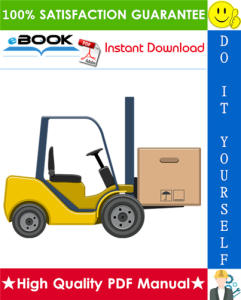 hyster a20xl, a25xl, a30xl (a203) electric forklift trucks parts manual