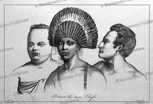 Three chiefs of Tonga, Victor Marie Felix Danvin, 1834 | Photos and Images | Travel