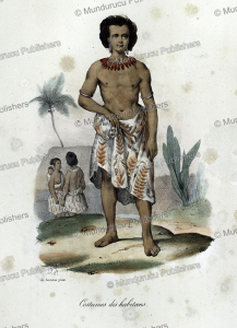 Man from Tonga Island, Louis Auguste de Sainson, 1835 | Photos and Images | Travel