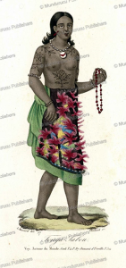 Woman of Tonga Tabou, Le´opold Massard, 1835 | Photos and Images | Travel
