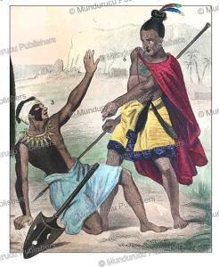 Tonga and Maori warriors, Demoraine, 1859 | Photos and Images | Travel
