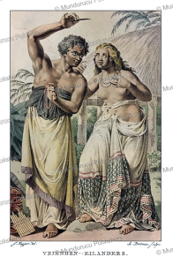 Natives from Tonga, Jacques Kuyper, 1802 | Photos and Images | Travel