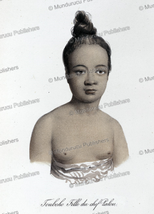 touboho, daughter of chief palou, tonga, louis auguste de sainson, 1835