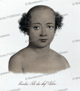 kaodai¨, son of chief palou, tonga, louis auguste de sainson, 1835