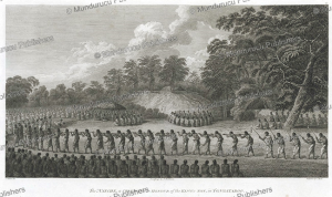 ceremony in honour of the king's son, tongatabu, john webber, 1780